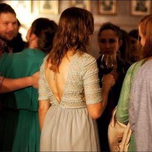 Mint Green Ya Los Angeles Dress with Deep V Back